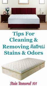 Tips For Cleaning & Removing Mattress Stains & Odors