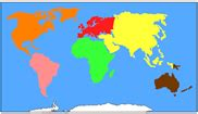 Förskoleburken: Kontinentkarta