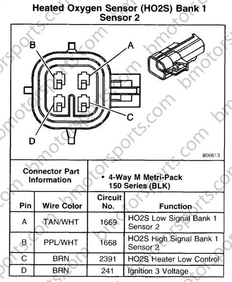 O2 Wiring Diagram by Pin On O2sensor