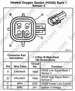 2001 Toyota Oxygen Sensor Pin Diagram
