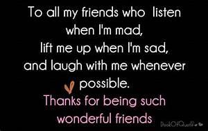 Wonderful Frien... Friendship Wonderful Quotes