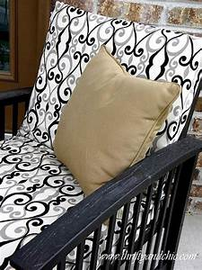 how to recover your outdoor seat cushions for cheap gonna With recover patio furniture cushions