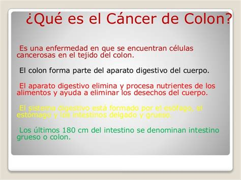 q es cancer q es cancer cancer de colon
