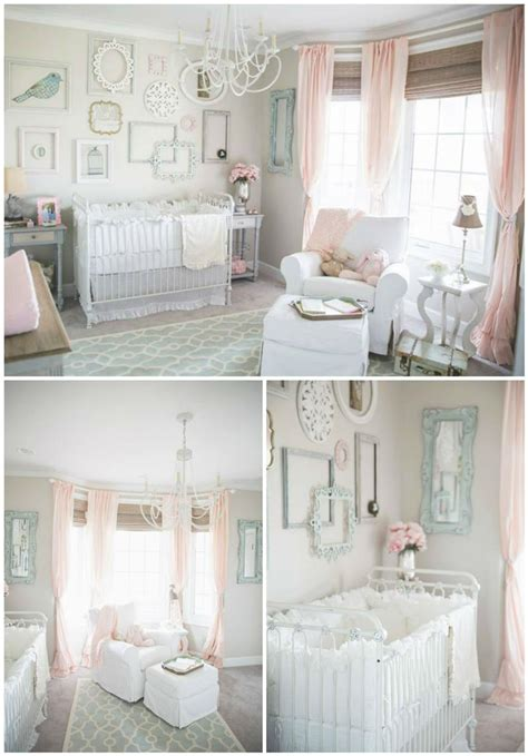 Bratt Decor Crib Satin White by We Are Madly In With This Vintage Chic Nursery