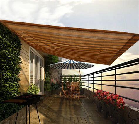 window curtain uv block shade sail net  balcony patio privacy mesh screen outdoor camping sun