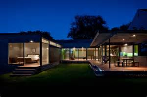 modern one story house plans casa abierta modern exterior dc metro by western