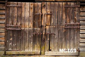 Vintage Barn Doors For Sale by Rustic Barn Door Polyester Photography Background