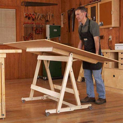 fold flat sheet goods mover learn woodworking wood