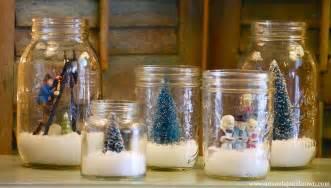 weihnachtsdeko ideen diy snow globes amanda brown