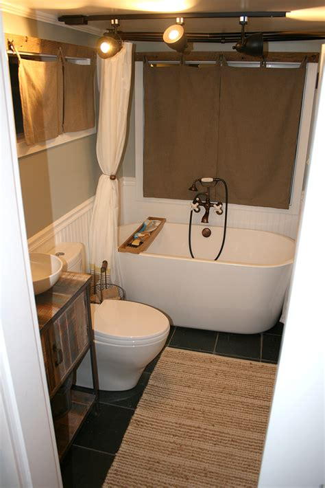 tiny house bathtub stunning self built tiny house on wheels tinyhousebuild