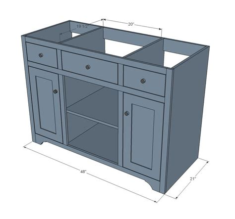 Bathroom Vanity Plans by Bath Vanity Construction Plans Woodworking Projects Plans