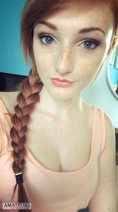 redhead ass selfie cumception