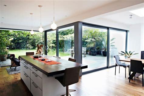 kitchen extension design ideas modern glass extension in the kitchen room design ideas