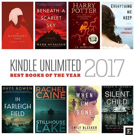 Top 50 Kindle Unlimited Books Of 2017