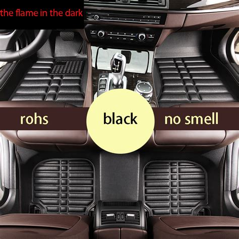 Vw Passat Floor Mats 2015 by Free Shipping Fiber Leather Car Floor Mat Carpet For