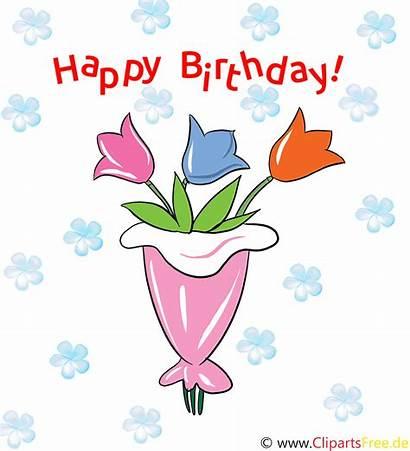Geburtstag Birthday Clipart Happy Gifs Compleanno Bursdag