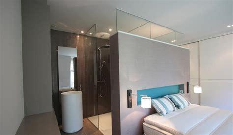 chambre salle de bain ouverte salle de bain ouverte à la chambre la suite parentale par