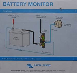 Big Data For A Tiny Trailer  Battery Monitor Installation