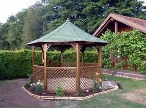 Tonnelle En Bambou : kiosque fer forg pour jardin ~ Premium-room.com Idées de Décoration