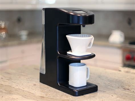 You can regulate everything from the water flow rate, type of filter basket, coffee bloom time, digital temperature control, and the amount of time the water is in contact with the coffee grinds. Big list of automatic pour over coffee makers   Pour Over Coffee