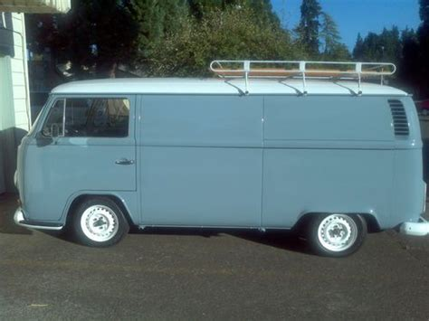 Find Used Rare Vw, 1972 Volkswagen Panel Bus Walkthrough