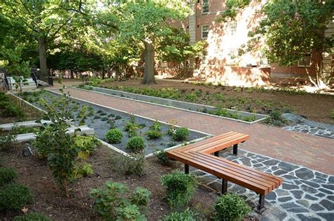 permeable hardscape two projects one with permeable pavers win hardscape north america competition pathway cafe