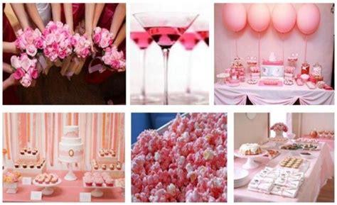 bridal shower ideas on a budget colour scheme pink by