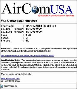 aircomusa With fax document from computer