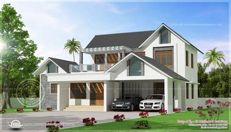 3 Bedroom Contemporary Home Design  House Rent And Home