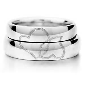 avery wedding bands heart matching couples sterling silver gold plated