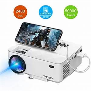 Mini Projector  T Topvision 2400lux Projector With