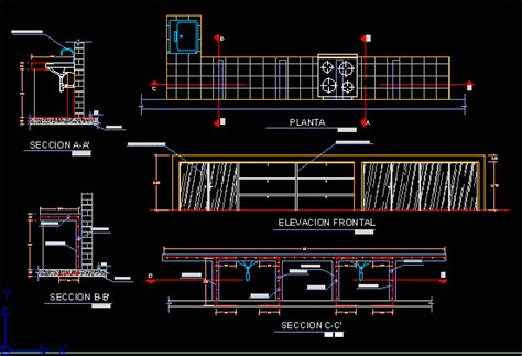 kitchen table details  autocad cad   kb