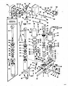Johnson Power Tilt And Trim Parts For 1978 115hp 115ml78c