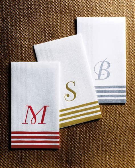caspari  personalized guest towelsbuffet napkins