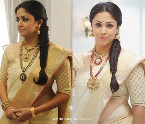 Jyothika in Saravana Elite Antique Jewelleries ~ South