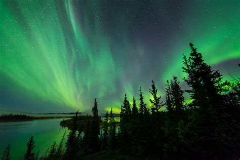 terre nature aurore bor 233 ale paysage couleurs lumi 232 re ciel lac fond d 233 cran
