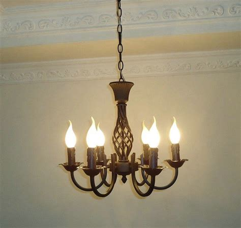 classical chandeliers free shipping6 pieces e14 black european wrought iron