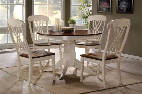 oak kitchen table set 42 lander oak buttermilk round kitchen table set table for 4