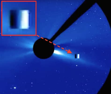 Alien Cube Ship Seen 3 Times In NASA Sun Video