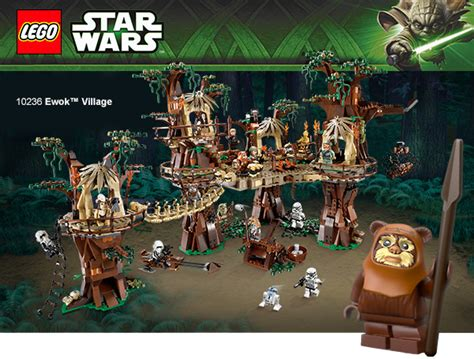 Lego Ewok Village Available Early For Vip Members