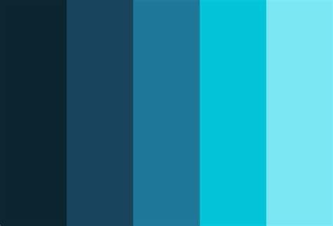 Cold Color Palettes - Colordesigner