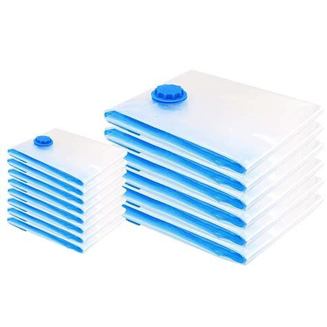 sacchetti sottovuoto per piumoni 15 sacchetti buste sottovuoto 80x100 40x60 salva spazio