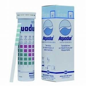 Test Dureté De L Eau : bandelette test duret de l 39 eau aquadur vdc faust sa ~ Premium-room.com Idées de Décoration