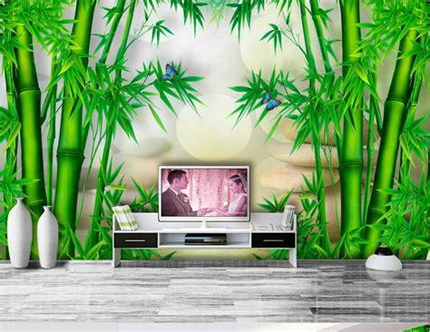 custom wallpaper papel de paredebamboo  chinese