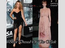 Best Dressed Of The Week Blake Lively In Dolce & Gabbana