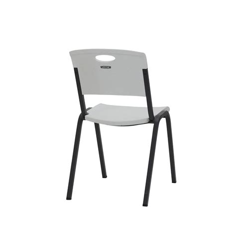 Lifetime Stacking Chairs White by Lifetime Stackable Chair White Officeworks
