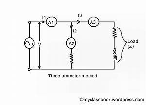 three ammeter method myclassbookorg With ammeter wiringjpg