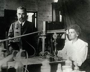 Marie and Pierre Curie and Radioactive Radium