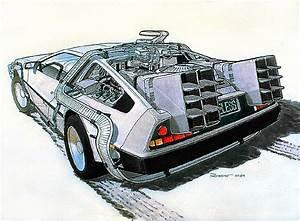 """DeLorean DMC-12 """"Time Machine"""" (1985): Back to the Future ..."""