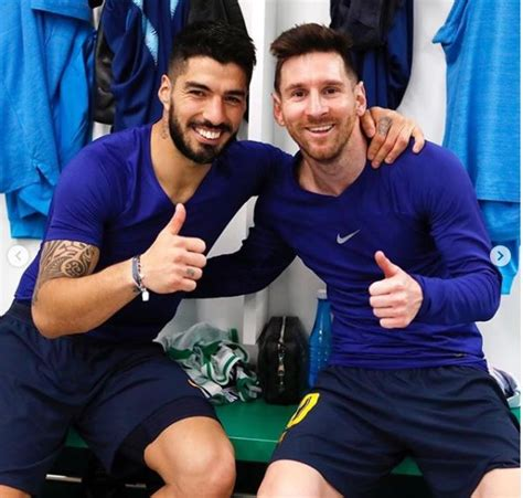 Messi Welcome To Join Suarez At Atletico, Says Club ...